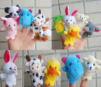 Пальчиковые игрушки Зверушки